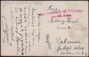 1918 Képeslap Albániából EP SCUTARI (SCHKODRA)d - Wien