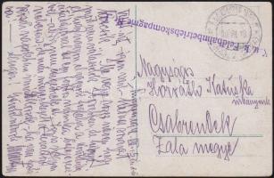 1918 Képeslap Albániából EP SCUTARI (SCHKODRA)b - Wien