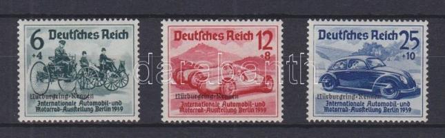1939 Autóverseny Mi 695-697