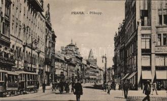 Praha, Prag; Prikopy tram station