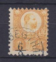 1871 Réznyomat 2kr narancs, kék (DOM)BEGYHÁ(Z)