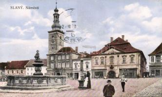 Slany, Námesti / square