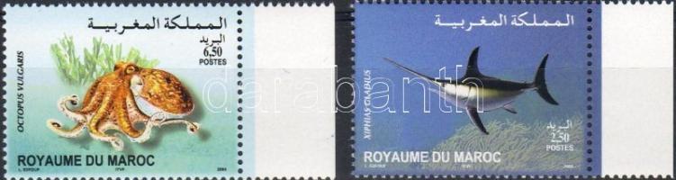 2004 Tengeri állatok Mi 1468-1469