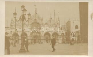 Venice, Venezia; Piazza San Marco and the Basilica photo