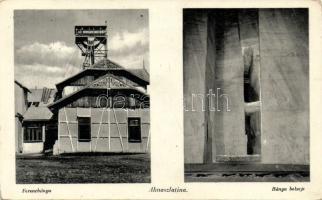 Solotvyno, mine, interior, Aknaszlatina, Ferenc bánya, belső