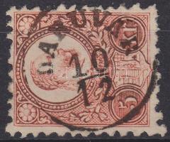 1871 Réznyomat 5kr / Mi 10 DARUVÁR