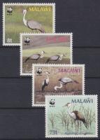 1987 WWF Madarak, Lebenyes daru sor Mi 477x - 480x