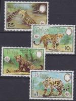 1983 WWF Jaguár sor Mi 719-722