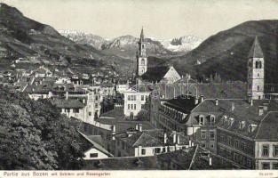Bolzano, Bozen; Schlern, Rosengarten