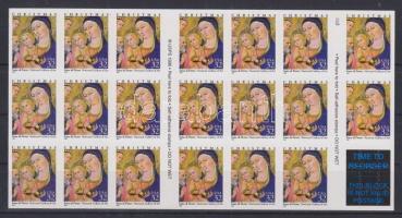 1997 Karácsony öntapadós bélyegfólia Mi F-Bl. 43 (Mi 2901)