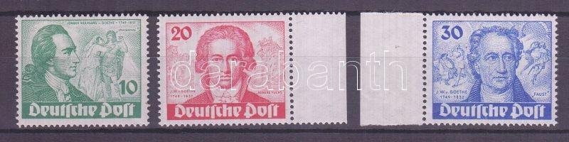 1949 Goethe Mi 61-63