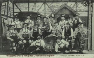 Westernacher's Original-Oberlandlerkapelle / men folk music choir