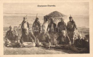 Durres, Durazzo; Dielmtee Hesat Pashes / soldiers
