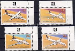 1991 Repülők, légitársaság Mi 372-375
