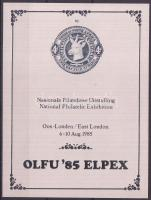 1985 Bélyegkiállítási emlékív