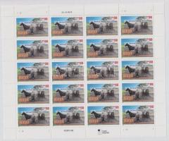1996 Vidéki postai kézbesítés kisív Mi 2754