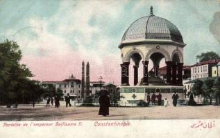 Constantinople Guillaume fountain (EB)