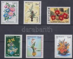 1981-1982 Virágok 6 klf bélyeg Mi 1496-1497, 1547, 1558-1560