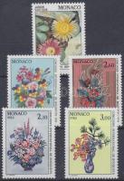 1983-1984 Virágok 5 klf bélyeg, teljes sorokkal Mi 1588, 1602-1603, 1664-1665