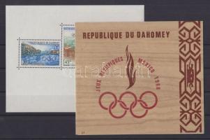 1967-1968 Téli és nyári olimpia blokkok Mi 10, 15