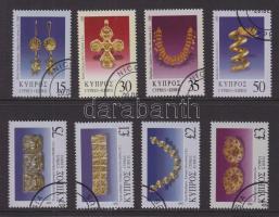 Jewellery complete except 4 small values, Ékszerek 4 kis érték kivételével teljes sor