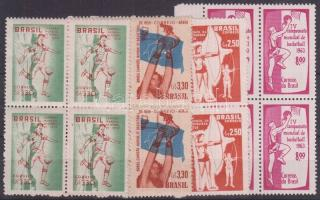 1958-1963 Sport 4 klf négyestömb
