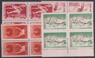1954-1958 Sport 4 klf négyestömb