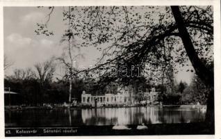 Kolozsvár park, lake