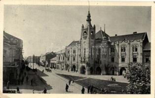 Munkács town hall ´vissza´ So.Stpl
