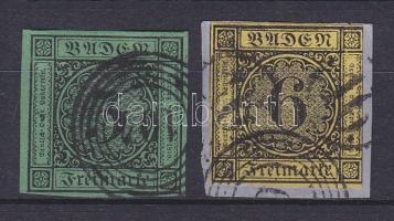 1853 Mi 6+7