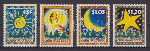 2000 Karácsony sor Mi 733-736