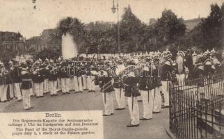 Berlin Royal castle guards, brass band