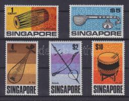 1969 Hangszerek Mi 107-111