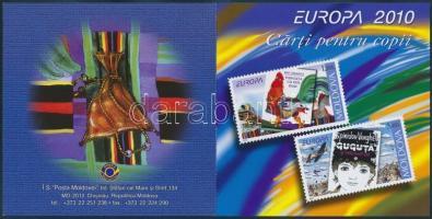 2010 Europa CEPT Gyermekkönyvek bélyegfüzet MH 15