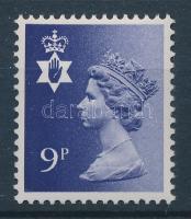 1978 Észak Írország regionális bélyeg Mi 25 foszfor nélkül / Regionals for Northern Ireland Mi 25, phosphor omitted