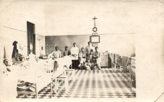 Military hospital interior photo, Hadikórház belső fotó