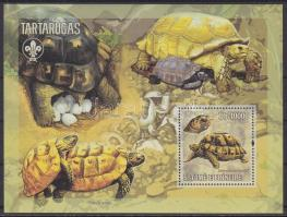 2006 Teknősök, cserkész blokk Mi 541