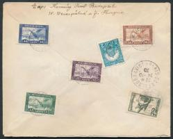 1930 Ajánlott légi levél Párizsba / Registered airmail cover to Paris