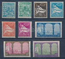 1927 Mi 78-86