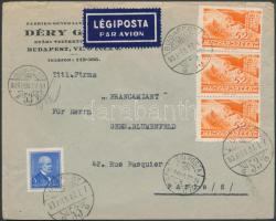 1939 Légi levél Párizsba / Airmail cover to Paris