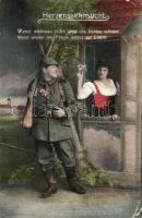 Military WWI romantic couple, Katonaság, I. világháborús romantikus pár