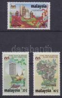 1984 10 éves Kuala Lumpur Szövetségi kerület Mi 275-277