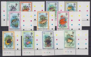 1981 Halak, Hivatalos sor Mi 32-42