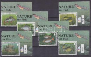 2010 Édesvízi halak ívszéli sor Mi 1514-1519