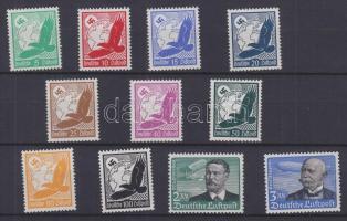 1934 Légiposta sor Mi 529-539