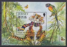 1998 Kínai újév - A tigris éve blokk Mi 17