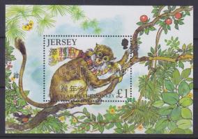 2004 Kínai újév - A majom éve blokk Mi 42