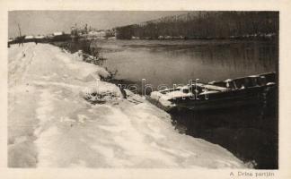 A Drina partján, Az Érdekes Újság kiadása Drina, river, HUngarian Interesting Newspaper