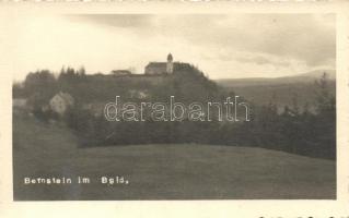Borostyánkő (Bernstein) castle