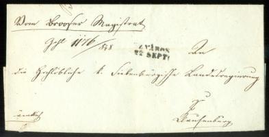 1848 Ex offo SZ.VÁROS - Klausenburg